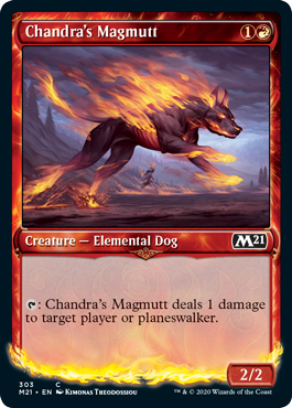 Chandras Magmutt - Foil - Showcase