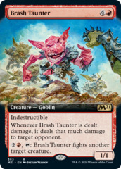 Brash Taunter - Extended Art