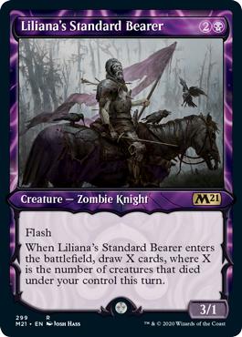 Lilianas Standard Bearer - Foil - Showcase