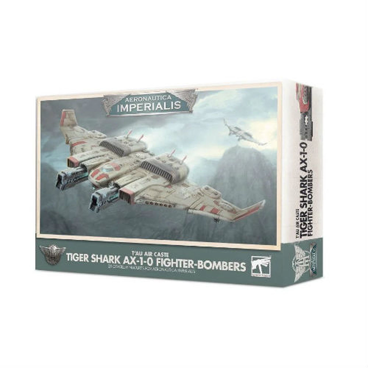 Aeronautica Imperialis: Tau Air Caste Tiger Shark AX 1-0 Fighter-Bombers