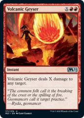 Volcanic Geyser - Foil
