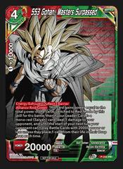 SS3 Gohan, Master Surpassed (Championship Pack 2020 Vol. 2) - P-241 - PR