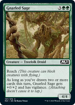 Gnarled Sage - Foil