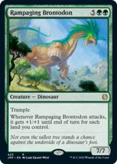 Rampaging Brontodon