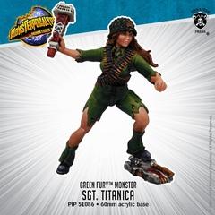 Green Fury - Sgt. Tiranuca - PIP51086 - 60mm acrylic base
