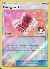 Pokegear 3.0 - 182a/214 - Pokemon League Cup Staff Promo