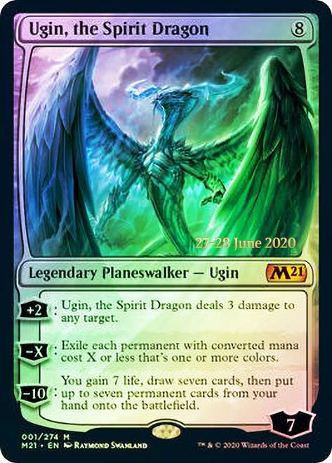 Ugin, the Spirit Dragon - Foil - Prerelease Promo