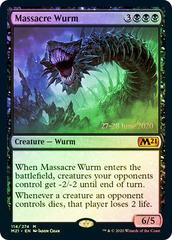 Massacre Wurm - M21 Prerelease - Foil