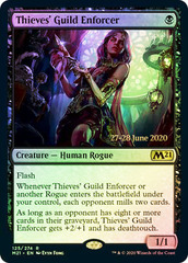 Thieves' Guild Enforcer - Foil - Prerelease Promo
