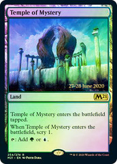 Temple of Mystery - Foil - Core Set 2021 Prerelease Promo