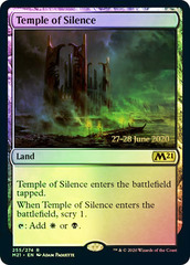 Temple of Silence - Foil - Core Set 2021 Prerelease Promo