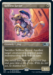 Selfless Savior - Foil - Dark Frame Promo Pack