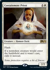 Containment Priest - Foil - Promo Pack