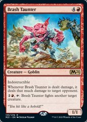 Brash Taunter - Foil - Promo Pack