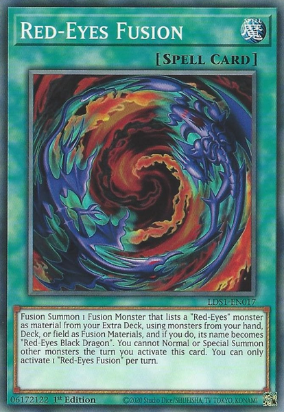 Red-Eyes Fusion - LDS1-EN017 - Common - 1st Edition