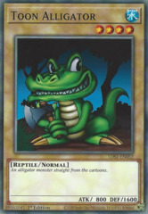 Toon Alligator - LDS1-EN052 - Common - 1st Edition