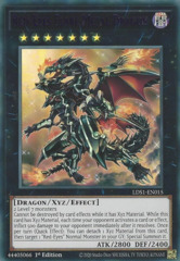 Red-Eyes Flare Metal Dragon (Purple) - LDS1-EN015 - Ultra Rare - 1st Edition