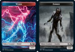 Weird Token // Zombie Token - Foil