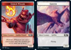 Goblin Wizard Token // Griffin Token - Foil