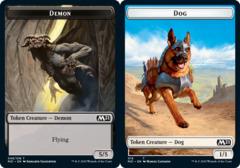 Demon Token // Dog Token - Foil