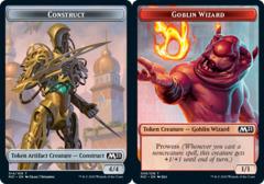 Construct Token // Goblin Wizard Token - Foil