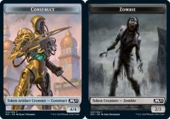 Construct Token // Zombie Token - Foil