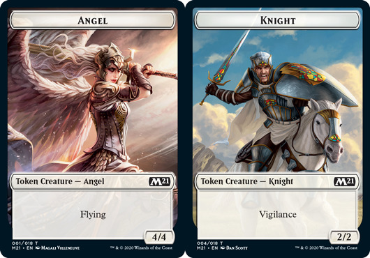 Angel Token // Knight Token - Foil
