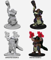 Nolzur's Marvelous Miniatures - W2 - Dwarf Cleric Male