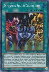Dimension Fusion Destruction - SDSA-EN046 - Super Rare - 1st Edition