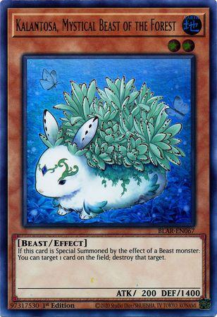 Kalantosa, Mystical Beast of the Forest - BLAR-EN067 - Ultra Rare - 1st Edition