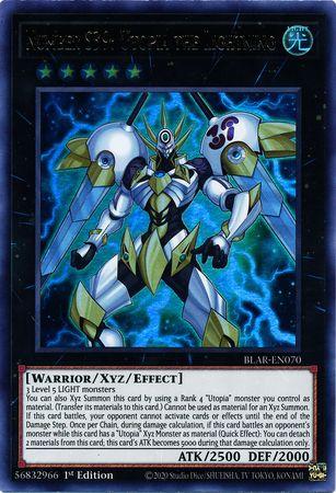 Number S39: Utopia the Lightning - BLAR-EN070 - Ultra Rare - 1st Edition