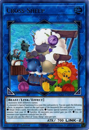 Cross-Sheep - BLAR-EN092 - Ultra Rare - 1st Edition