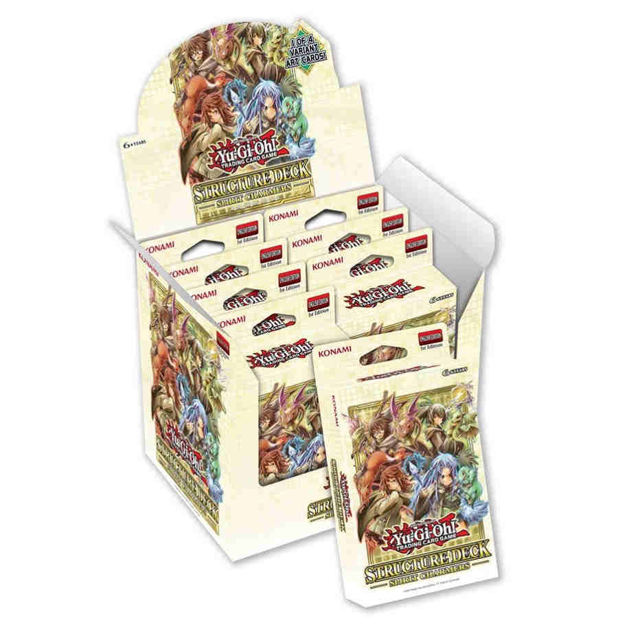 Structure Deck: Spirit Charmers 1st Edition Display (8 Decks)
