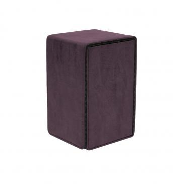 Ultra Pro - Alcove Tower Flip Box - Suede Collection: Amethyst