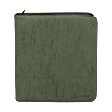Ultra Pro - Deck Builders Playset PRO-Binder - Suede Collection: Emerald 12 Pocket
