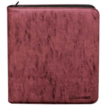 Ultra Pro - Deck Builders Playset PRO-Binder - Suede Collection: Ruby