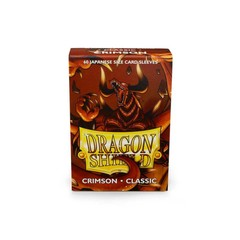 Dragon Shield Sleeves: Japanese Classic Crimson (Box of 60)