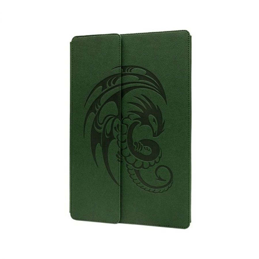 Dragon Shield: Nomad Playmat - Forest Green and Black