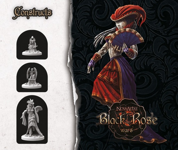 Black Rose Wars: Summonings - Constructs