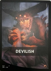 Devilish Theme Card