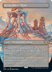 Urza's Power Plant - Foil - Borderless