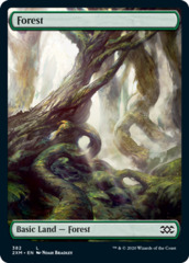 Forest (382) - Foil (BfZ Art)
