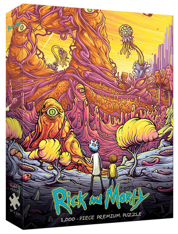 Rick and Morty Into the Rickverse 1000 Piece Puzzle