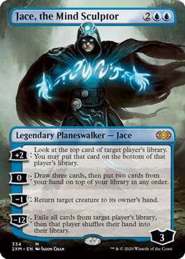 Jace, the Mind Sculptor - Borderless