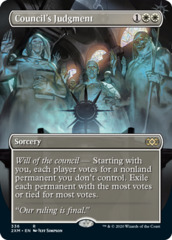 Council's Judgment - Foil - Borderless
