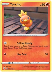 Torchic - 022/189 - Common on Channel Fireball