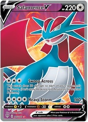 Salamence V - 185/189 - Full Art Ultra Rare