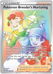 Pokemon Breeder's Nurturing - 195/189 - Secret Rare