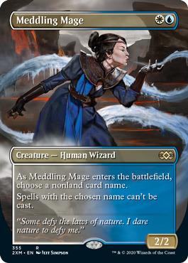 Meddling Mage - Borderless