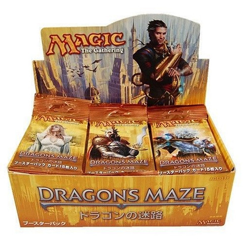 Dragons Maze Booster Box - Japanese